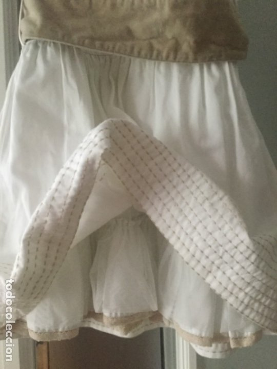 Vintage: Vestido niña de ceremonia o arras, marca Tizzas. Talla 7-8 Usado en una ocasión para una ceremonia - Foto 7 - 180040388