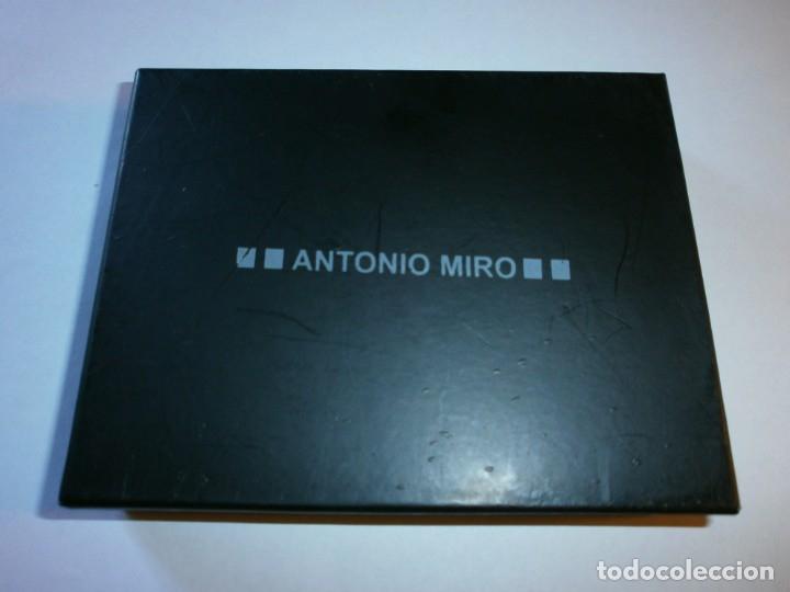 Vintage: TARJETERO EN PIEL ANTONIO MIRÓ - MARROQUINERÍA - NUEVO, A ESTRENAR !! - Foto 2 - 180084305