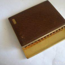 Vintage: ANTIGUA PITILLERA PIEL Y METAL. Lote 170534398
