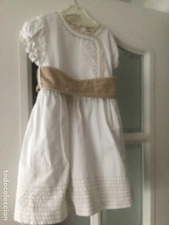 Vintage: Vestido niña de ceremonia o arras, marca Tizzas. Talla 7-8 Usado en una ocasión para una ceremonia - Foto 8 - 180040388