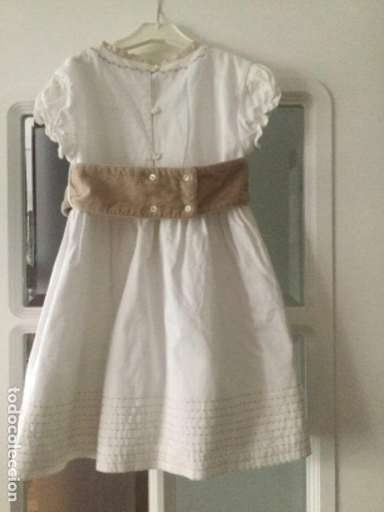 Vintage: Vestido niña de ceremonia o arras, marca Tizzas. Talla 7-8 Usado en una ocasión para una ceremonia - Foto 9 - 180040388