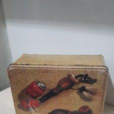 Vintage: CAJA METALICA COLACAO. Lote 180427802