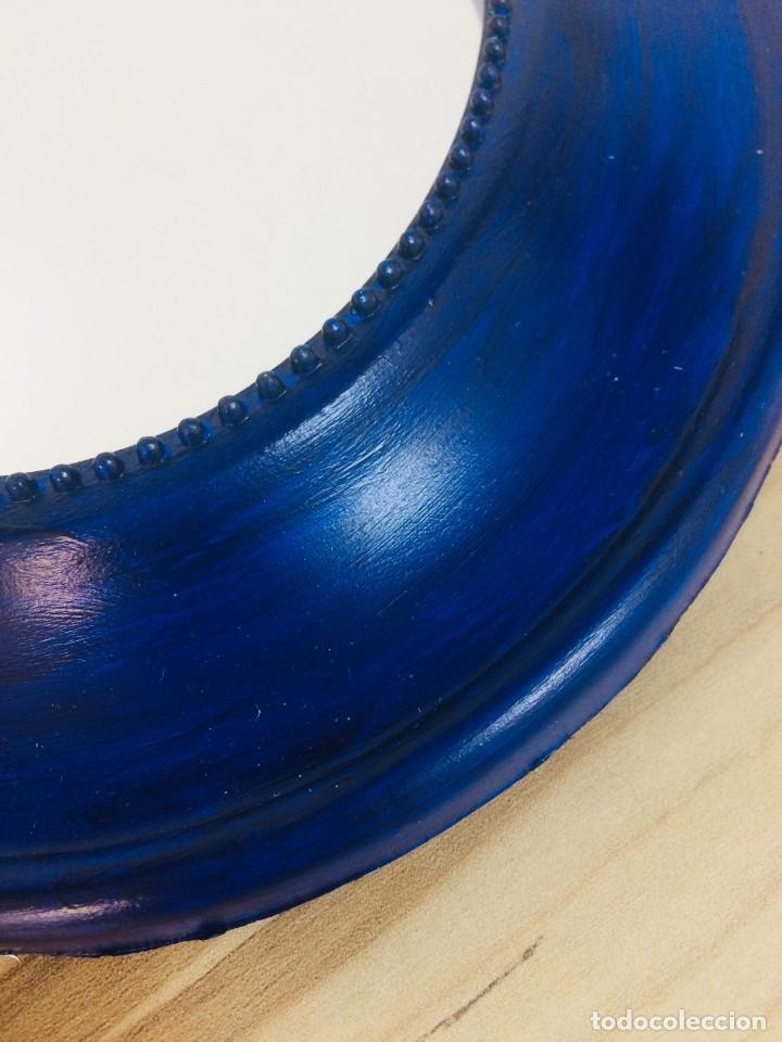 Vintage: Espejo Vintage Azul - Foto 3 - 180836262