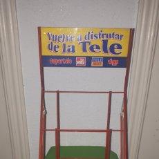 Vintage: ESTANTERÍA REVISTAS TELE INDISCRETA TP SUPERTELE TELENOVELA. Lote 180902878