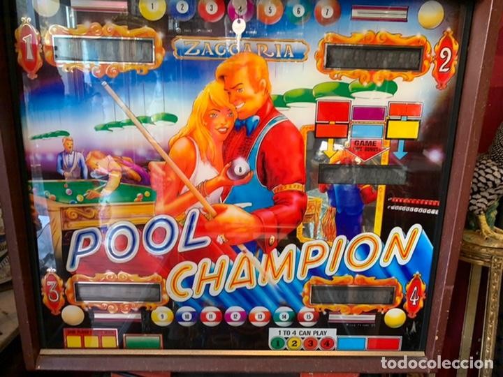 Vintage: Pinball Zaccaria pool champion diciembre 1985 - Foto 8 - 176867094