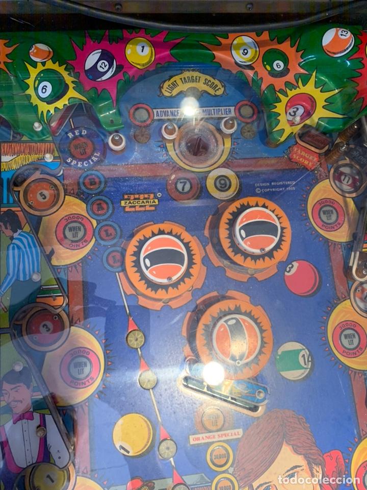 Vintage: Pinball Zaccaria pool champion diciembre 1985 - Foto 16 - 176867094