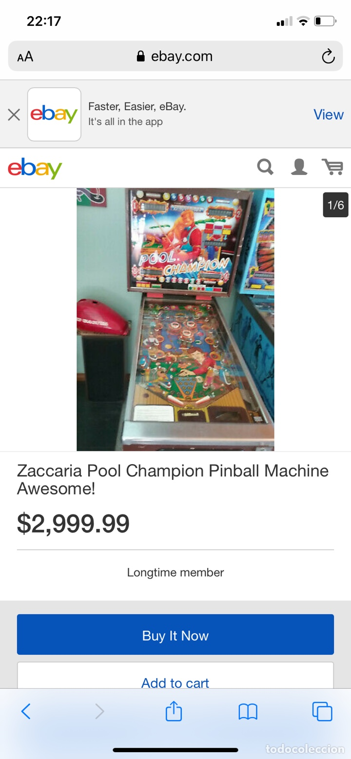 Vintage: Pinball Zaccaria pool champion diciembre 1985 - Foto 17 - 176867094