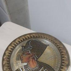 Vintage: PLATO METALICO CON MOTIVOS EGIPCIOS. Lote 181439251