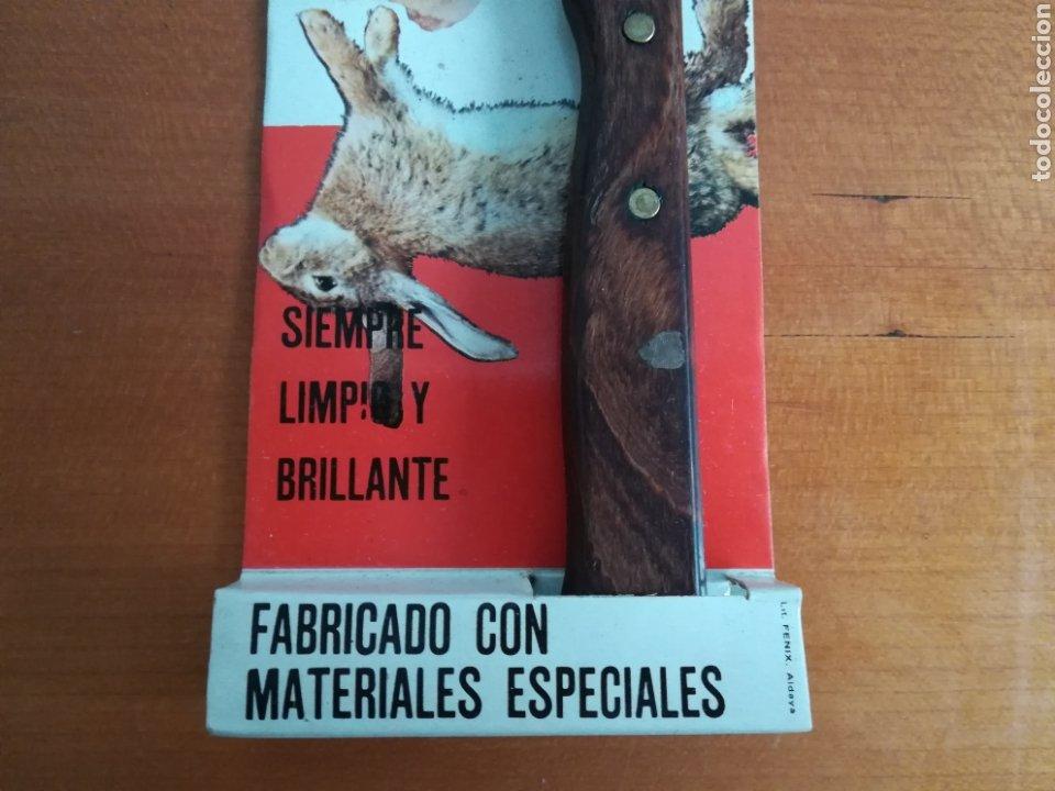 Vintage: Cuchillo ARCOS - Siempre limpio y brillante - Acero Inoxidable - Decoración Vintage Caza Perdiz - Foto 4 - 181450678
