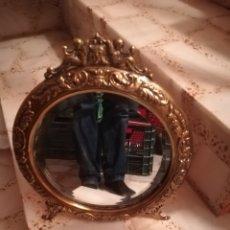 Vintage: ESPEJO VINTAGE BRONCE. Lote 181616030
