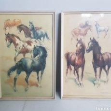 Vintage: PAREJA DE CUADROS. Lote 182008115