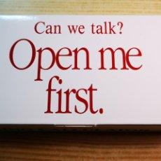Vintage: CALCULADORA TALKING CALCULATOR DESK TOP A ESTRENAR. Lote 182199513