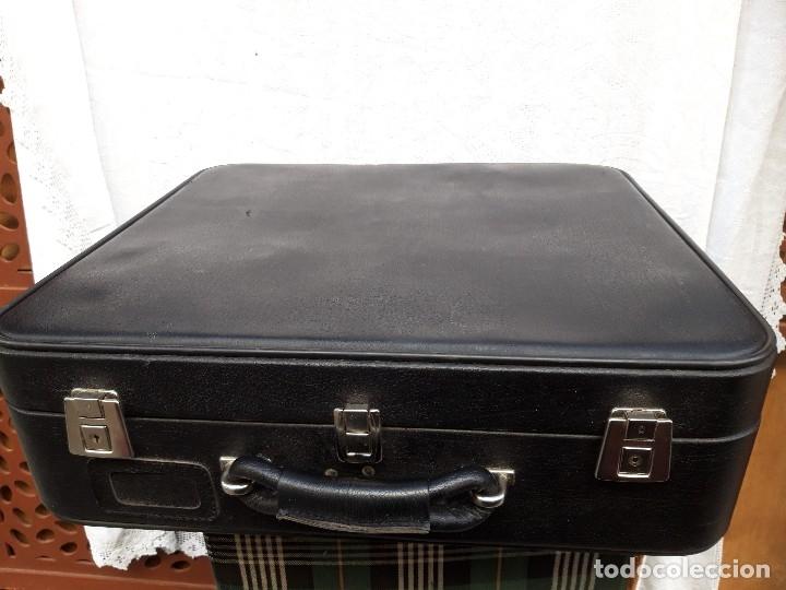 Vintage: Maleta en plastico, quizás de muestrario de un un viajante, Vera Elda hacia 1960 - Foto 2 - 182644492
