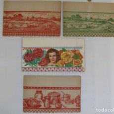Vintage: LOTE 11 CENEFAS DECORATIVAS PAPEL ALACENA O ARMARIO.. Lote 182822977