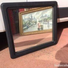 Vintage: ESPEJO DE MADERA. Lote 183064762