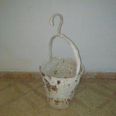 Vintage: CUBO DE PINTAR MUY ANTIGUOS DECORACIÓN. Lote 183529868