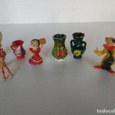 Vintage: LOTE DE FIGURITAS VINTAGE, ALBOROX, GOULA, ETC. Lote 183615762