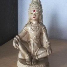 Vintage: ANTIGUA FIGURA BUDA, DIOSA HINDU O INDIA. . Lote 183697747