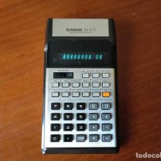 Vintage: CALCULADORA CASIO FX-105 SCIENTIFIC CALCULATOR AÑOS 70 FUNCIONANDO. Lote 183703476