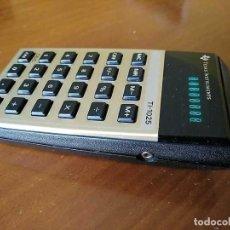 Vintage: CALCULADORA TEXAS INSTRUMENTS TI-1025 AÑOS 70 FUNCIONANDO - CALCULATOR -. Lote 183711165