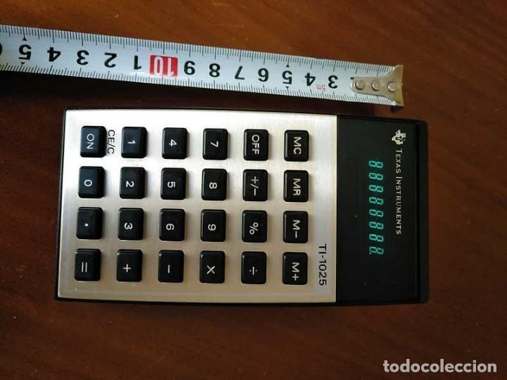 Vintage: CALCULADORA TEXAS INSTRUMENTS TI-1025 AÑOS 70 FUNCIONANDO - CALCULATOR - - Foto 14 - 183711165