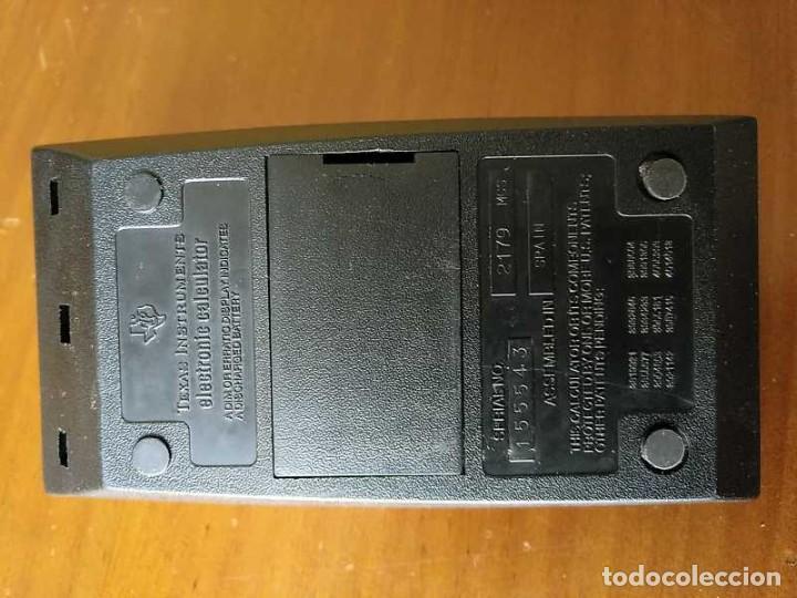 Vintage: CALCULADORA TEXAS INSTRUMENTS TI-1025 AÑOS 70 FUNCIONANDO - CALCULATOR - - Foto 37 - 183711165
