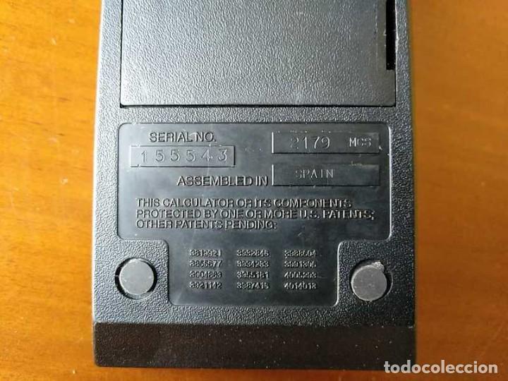 Vintage: CALCULADORA TEXAS INSTRUMENTS TI-1025 AÑOS 70 FUNCIONANDO - CALCULATOR - - Foto 39 - 183711165
