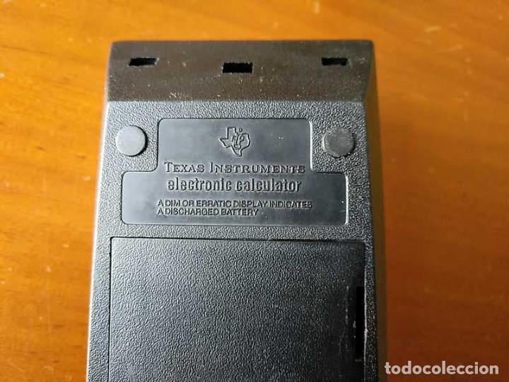 Vintage: CALCULADORA TEXAS INSTRUMENTS TI-1025 AÑOS 70 FUNCIONANDO - CALCULATOR - - Foto 40 - 183711165
