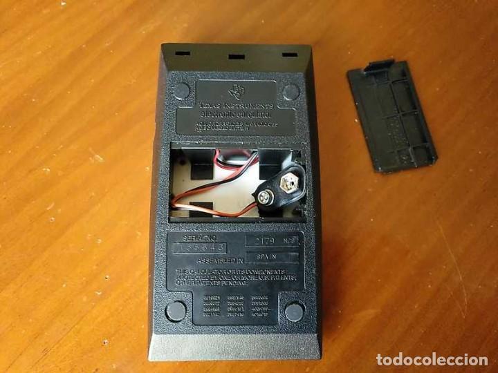 Vintage: CALCULADORA TEXAS INSTRUMENTS TI-1025 AÑOS 70 FUNCIONANDO - CALCULATOR - - Foto 50 - 183711165