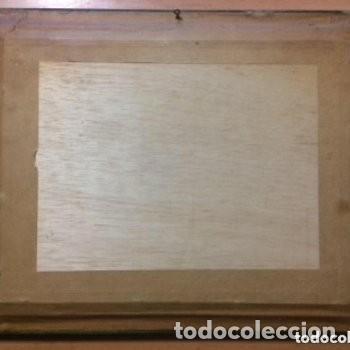 Vintage: Cuadro tridimensional en relieve 3D esmaltado con capas sobrepuestas. Escena casera - Foto 2 - 183785947