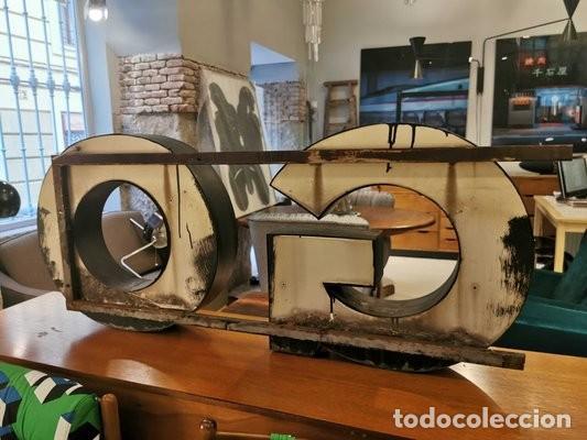 Vintage: Letras GO industriales vintage - Foto 6 - 183837886