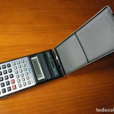 Vintage: CALCULADORA CASIO FX-82L FRACTION - FUNCIONANDO - CALCULATOR -. Lote 183928128