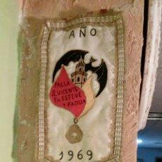 Vintage: BANDA DE FALLERA DEL AÑO 1969. Lote 184180715