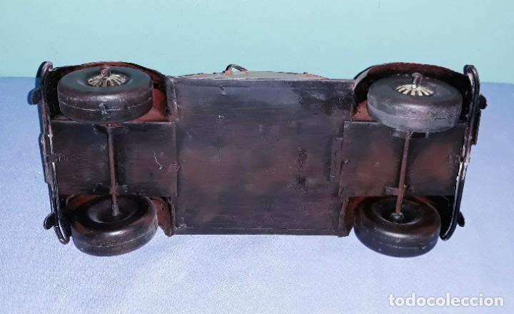 Vintage: COCHE VOLKSWAGEN DE METAL PARA DECORACION - Foto 3 - 184675292