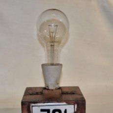 Vintage: BOMBILLA PARA DECORACIÓN Nº 761. Lote 185732612