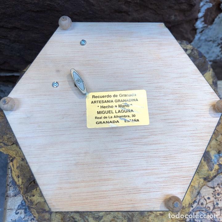 Vintage: Exclusiva caja joyero con música . Taracea de Granada. - Foto 7 - 186463420