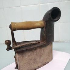 Vintage: IMPONENTE PLANCHA DE CARBÓN N° 6 1/2. UNION CERRAJERA DE MONDRAGON. CIRCA 1910. VER DESCRIPCIÓN.. Lote 187303896
