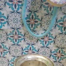 Vintage: MINIATURA CHAMPANERA,DE ALPACA??. Lote 187534317