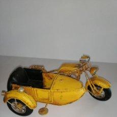 Vintage: MOTO SIDECAR DECORATIVA. Lote 189433871