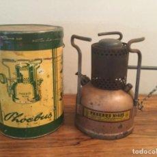 Vintage: HORNILLO / COCINA MADE IN AUSTRIA ORIGINAL-PHOEBUS NO 625, PARA GASOLINA CAMPING, PLAYA ETC. BENZINE. Lote 190334692