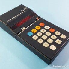 Vintage: ANTIGUA CALCULADORA VANGUARD ELECTRONIC X-805 MODEL 17PA FUNCIONA CON 6 PILAS AA (NO INCLUIDAS). Lote 190370378