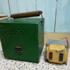 Vintage: 2 TRANSFORMADORES ELÉCTRICOS. Lote 190435613
