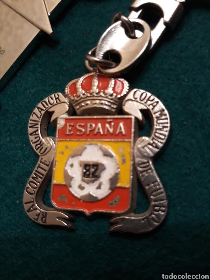 Vintage: Llavero Comité Organizador Copa Mundial 82 de Fútbol - Foto 2 - 190559007