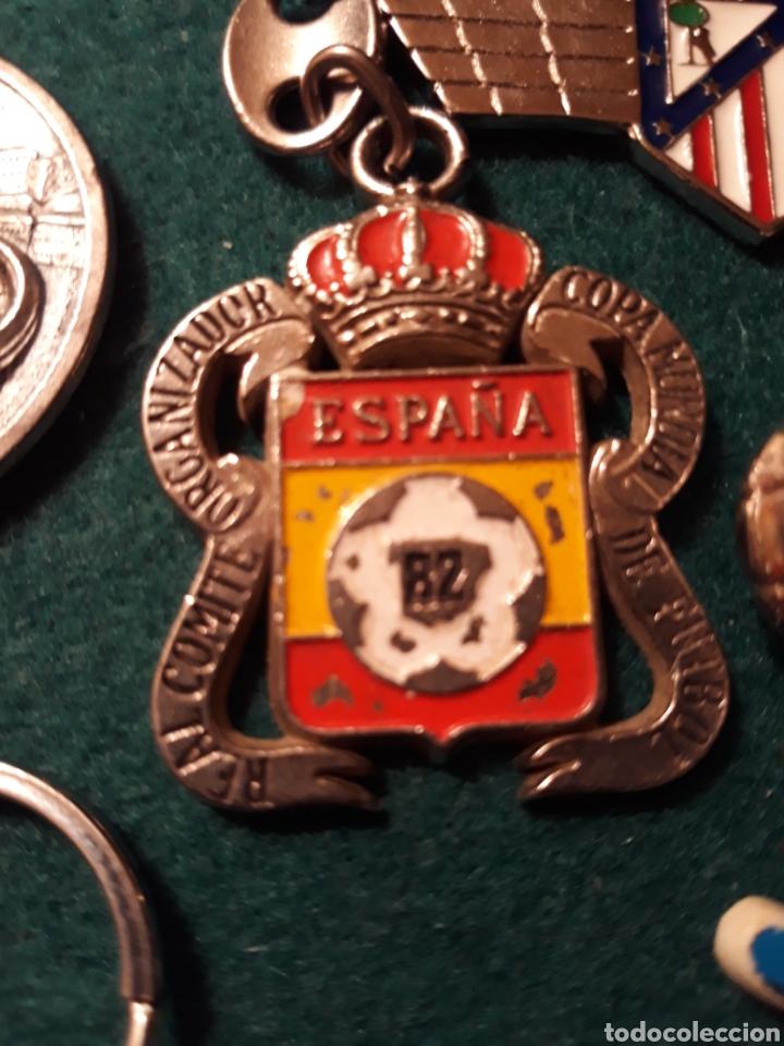 LLAVERO COMITÉ ORGANIZADOR COPA MUNDIAL 82 DE FÚTBOL (Vintage - Varios)