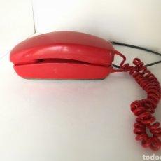 Vintage: TELÉFONO GONDOLA CITESA ROJO AÑOS 70 RETRO VINTAGE. Lote 190734742
