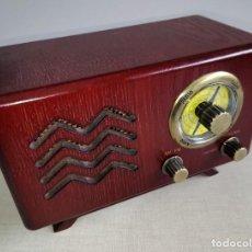 Vintage: MAGNÍFICA RADIO DE MADERA RETRO. PRECIOSA ARTÍCULO DECORACIÓN Y USO. . Lote 190749746