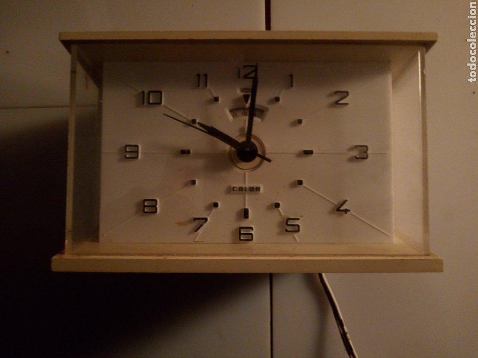 Vintage: Reloj despertador eléctrico Calor. Francia. Años 60-70. - Foto 3 - 190871307