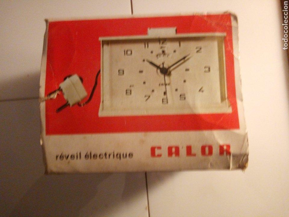 Vintage: Reloj despertador eléctrico Calor. Francia. Años 60-70. - Foto 9 - 190871307