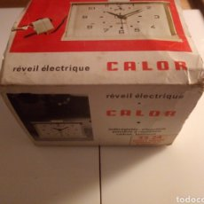 Vintage: RELOJ DESPERTADOR ELÉCTRICO CALOR. FRANCIA. AÑOS 60-70.. Lote 190871307