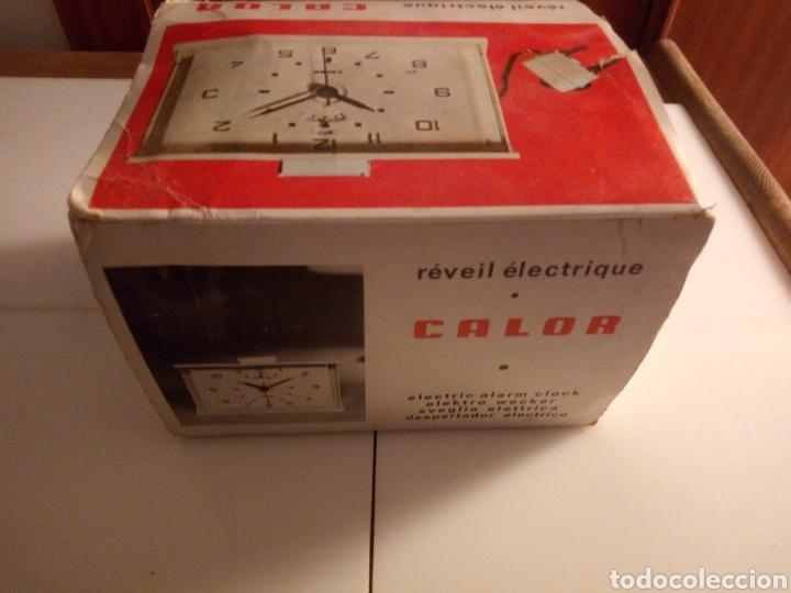Vintage: Reloj despertador eléctrico Calor. Francia. Años 60-70. - Foto 10 - 190871307